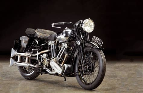 The 1937 Brough Superior Ss100