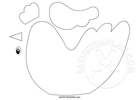 chicken template chicken craft template easter template
