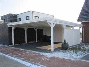Aluminium Carport Mit Abstellraum : carport farbig behandelt ~ Markanthonyermac.com Haus und Dekorationen
