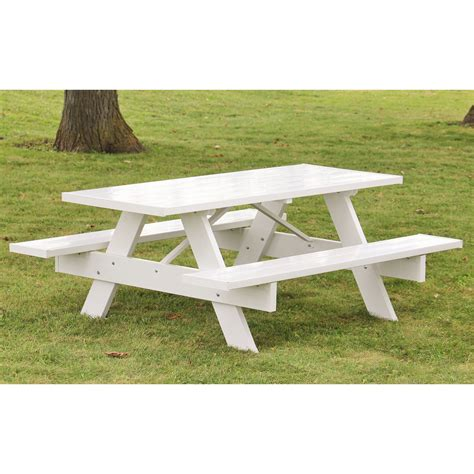 Duratrel Traditional White Picnic Table  Picnic Tables. Desk Sergeant Fort Wayne. Whirlpool Fridge Crisper Drawer. Desk Decoration Ideas In Office. Ros Help Desk. Desk Mic Stand. Table For Tv. Corner Computer Desks For Small Spaces. Farm Table With Benches