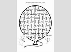 Easy Toddler Mazes Printable Cute Maze Preschool Free