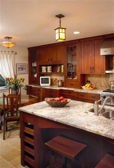 prairie style kitchen cabinets prairie style light fixtures a wooden wheel table and 4383