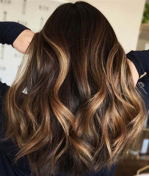 47 Stunning Blonde Highlights for Dark Hair | Page 5 of 5 ...