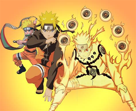 Uzumaki Naruto Shippuden Background Image For Macbook