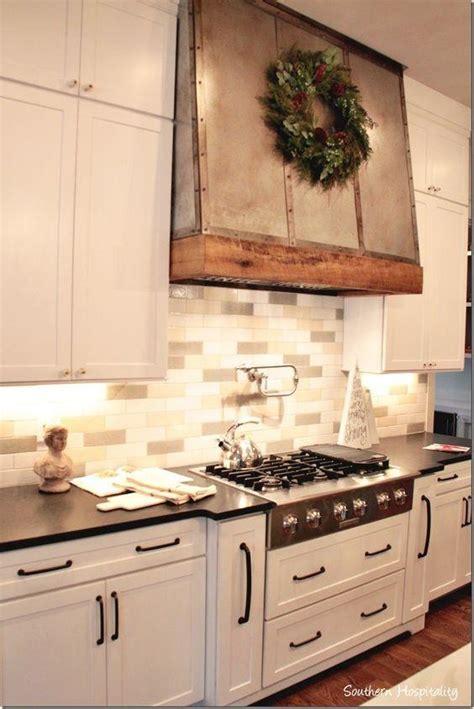 copper kitchen backsplash custom metal vent decorated with wood custom made 2577