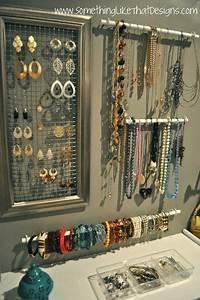 Idée Rangement Bijoux : porte bijoux original 30 id es de bricolage facile et bon march rangement organizadores ~ Melissatoandfro.com Idées de Décoration