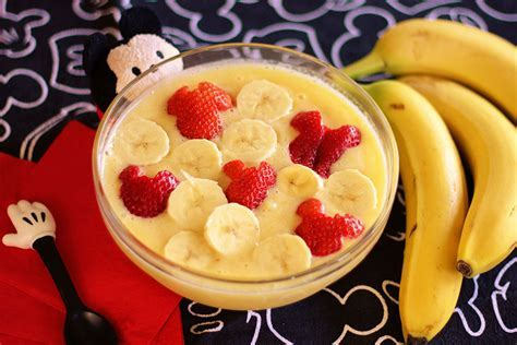 Mickey Smoothie Bowl   Disney Family