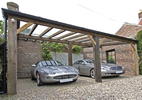 Carport : Useful Tips How To Use Wooden Carport