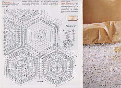 copriletto uncinetto schemi la bottega delle meraviglie di gabry schemi per copriletto