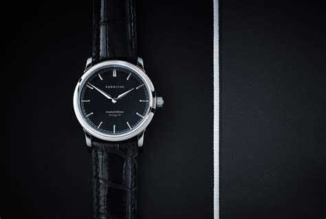 Corniche Watches Introducing The New Tuxedo From Corniche Watches