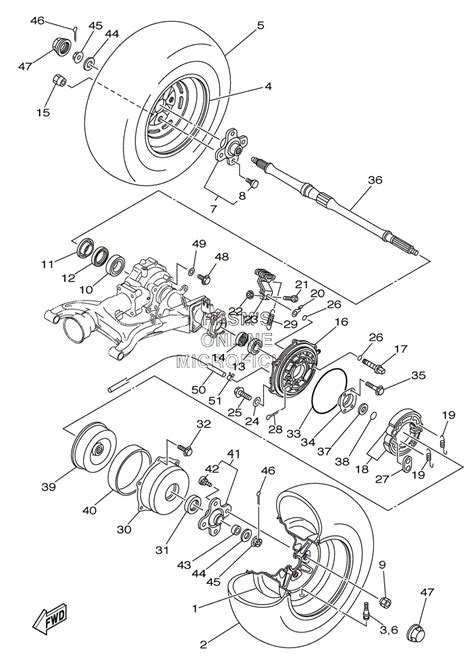 yamaha bruin 250 parts diagram hobbiesxstyle