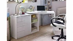 Mini Büro Im Schrank : schreibtisch vivor mit regal schrank wei hochglanz lack ~ Bigdaddyawards.com Haus und Dekorationen