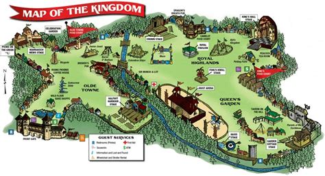 Check Out The Renaissance Festival Map!  Fun Things To Do