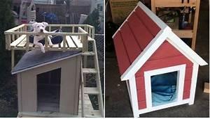 Cool diy dog house for Easy diy dog house