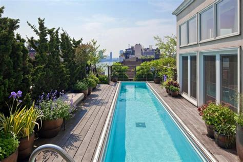 swimming pool terrace dovecote decor castles in the sky penthouse views