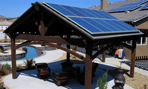 Deck With Gazebo by Where To Install Solar Instead Of On The Roof Modernize