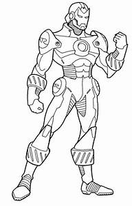 Iron Man Printable Coloring Sheets Coloring Pages