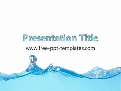 Powerpoint Water Template Ppt Templates Rain Background