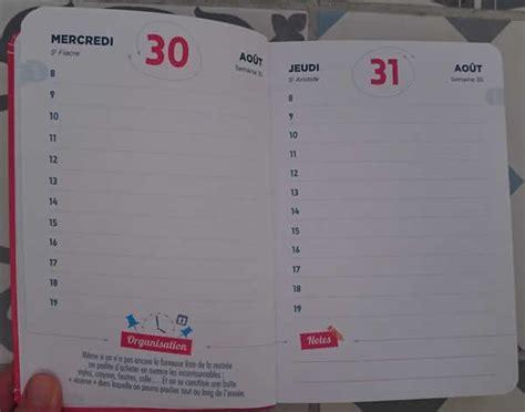 sorganiser en famille  la maison avec le calendrier
