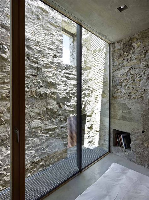 stone house renovation  wespi de meuron romeo architects