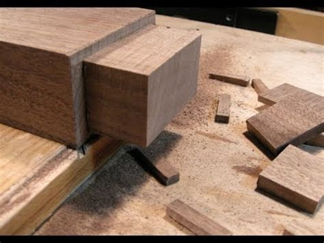 woodworking joints  hand  architects table part