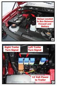 Missing Relays For Trailer Turn Signals On 2012 Nissan