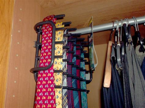 Boholmen repurposed as tie rack   IKEA Hackers