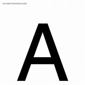 Alphabet letter a wwwimgkidcom the image kid has it for Black alphabet letters