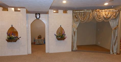 fantasy playroom castle stage toy room art eclectic