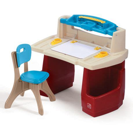 step 2 desk with chair step2 deluxe master desk walmart ca