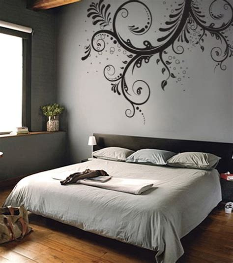 Fantastic Decorations With Beautiful Floral Wall Stencils