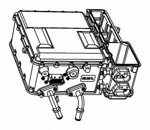 Chrysler Aspen Module  Traction Power Inverter  Invertor