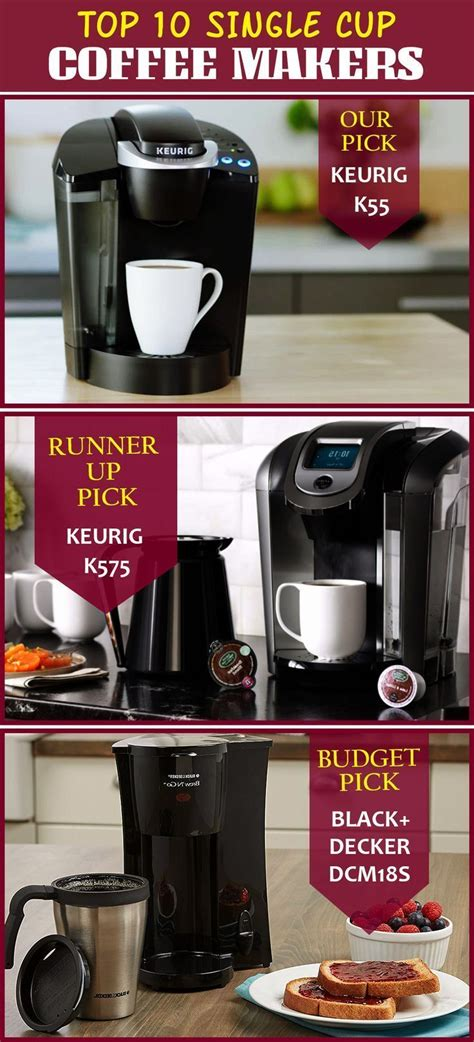 It is a compact and sleek look single cup coffee maker. Top 10 Single Cup Coffee Makers (Feb. 2020) - Reviews ...