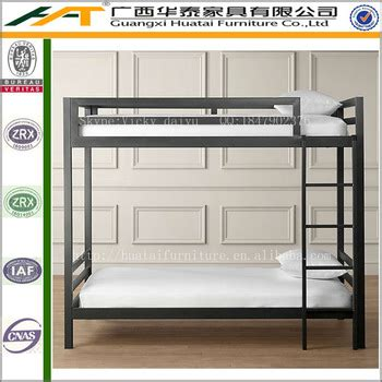 modern design metal bunk bed  cheap wrought iron bunk