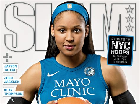 Maya Moore first woman on SLAM magazine cover in 20 years ...