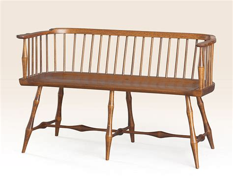 settees and benches low back settee bench bamboo style turnings