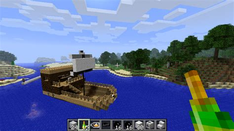 How To Make A War Boat In Minecraft by Modds E Blogi Pl