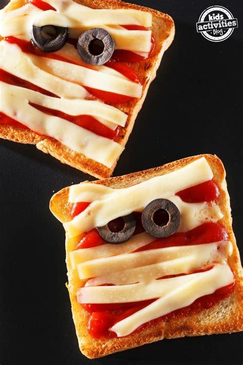 scary halloween food  snack ideas kids