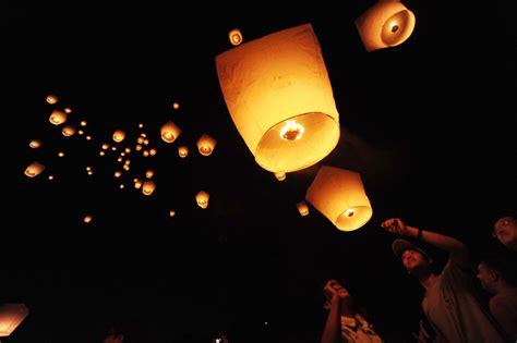 foto lanterne volanti lanterne kongming quotidiano net china channel