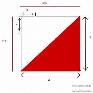 Seitenlänge Berechnen Dreieck : maximaler fl cheninhalt vom dreieck im quadrat mit seitenl nge 6m mathelounge ~ Themetempest.com Abrechnung