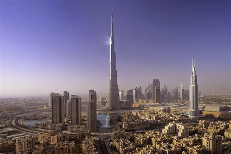 Burj Khalifa - Tallest man-made structure in the world in ...