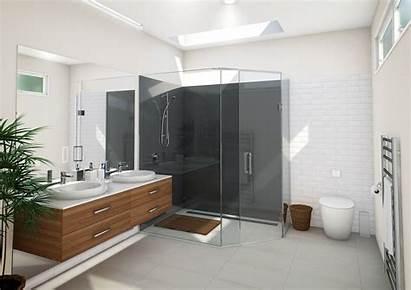 Shower Sided Glass Bathroom Bathrooms Nz Showers