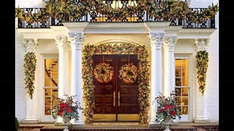 fascinating front porch christmas decorating ideas youtube