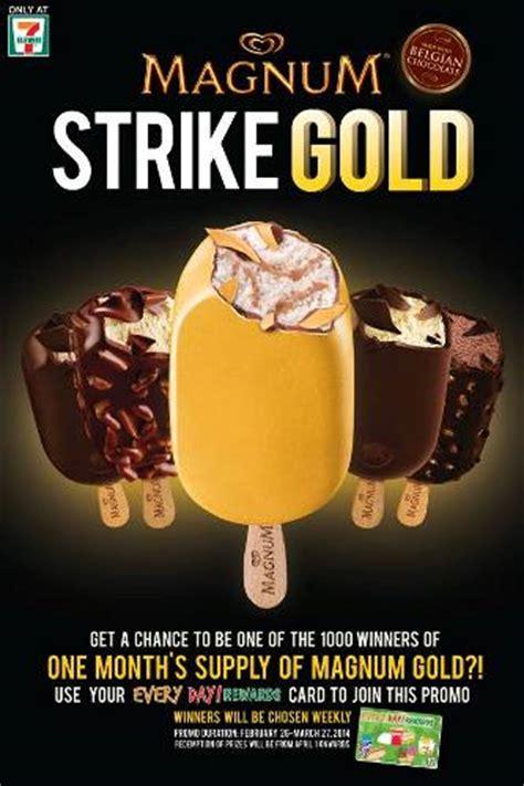 Promo Glenka Gold 7 eleven magnum strike gold promo philippine contests
