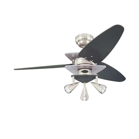 42 inch ceiling fan with light westinghouse lighting vector elite 3 light 42 inch indoor