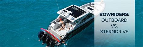 Yacht Vs Boat Difference by Bowriders Outboard Vs Sterndrive Formula Boats