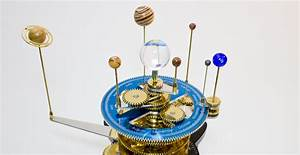 You Need a Beautiful Orrery in Your Life