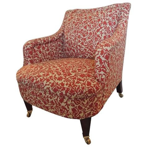 George Smith Armchair by Classic George Smith Upholstered Armchair In India Flower