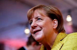 As Germany heads to vote, Chancellor Angela Merkel poised ...