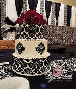 25+ best ideas about Damask cake on Pinterest